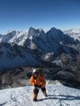 Last few steps to the summit still seemed so long